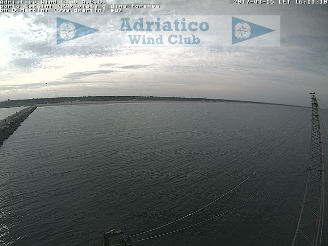Adriatico wind club webcam