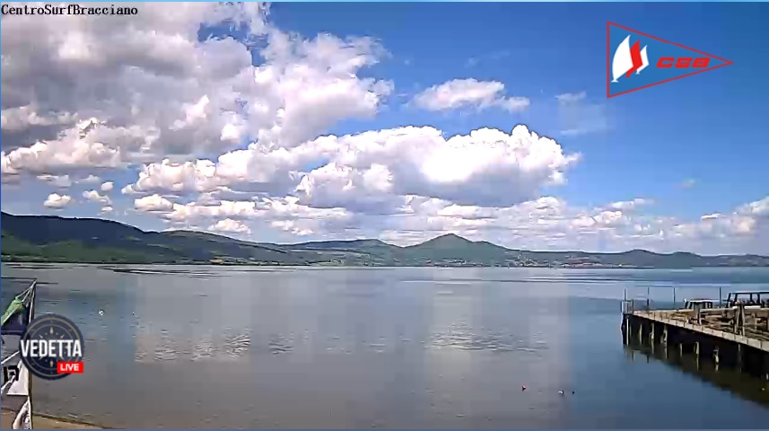 Bracciano webcam