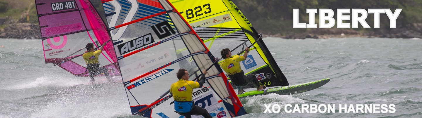 Banner Windsurf Carbon producer Liberty from Japan