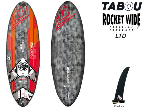 Tabou rocket wide 2017 ltd