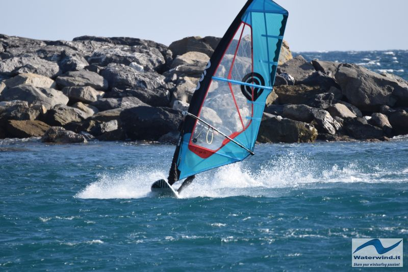 Windsurf Bordighera Liguria Italy 7