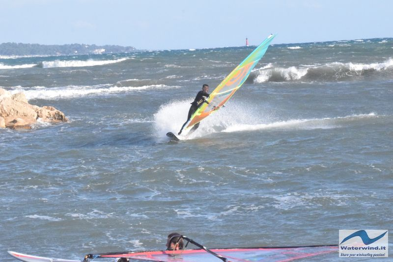 Windsurf Cannes Palm Beach France 7