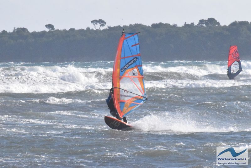 Windsurf Cannes Palm Beach France 9
