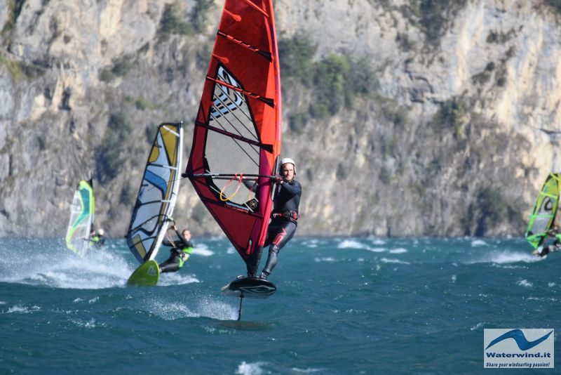 Windsurf Isleten Urnesee Switzerland 102