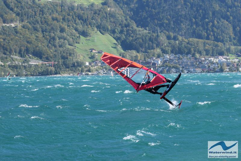 Windsurf Isleten Urnesee Switzerland 141
