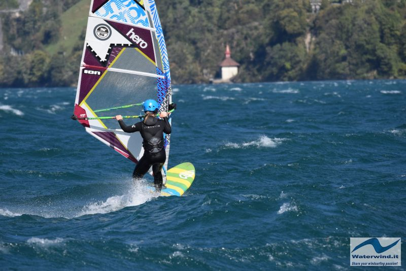 Windsurf Isleten Urnesee Switzerland 149