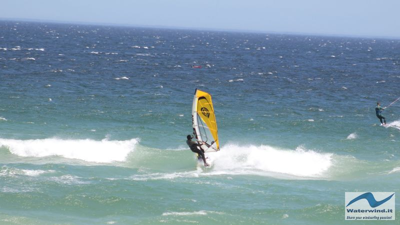 Windsurf Sunset Sud Africa
