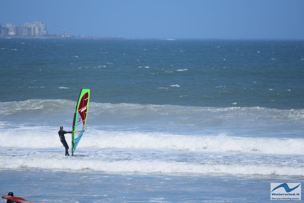 Windsurf Sunset beach Sud Africa 24 01 1