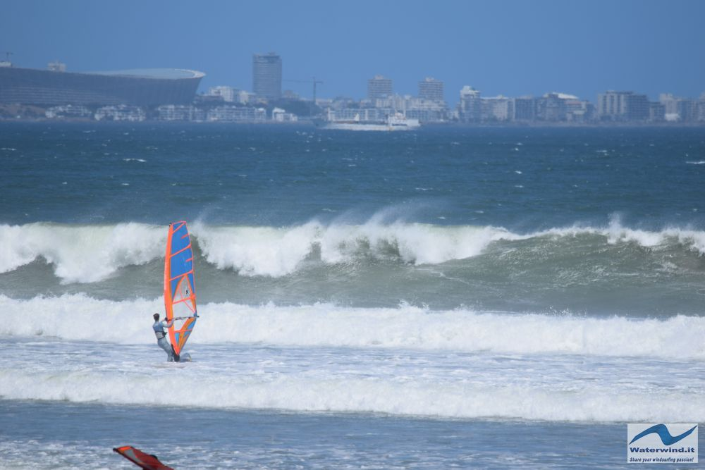 Windsurf Sunset beach Sud Africa 24 01 2
