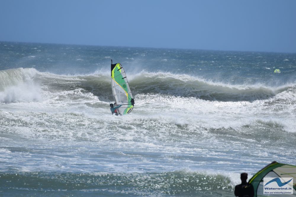Windsurf Sunset beach Sud Africa 24 01 3