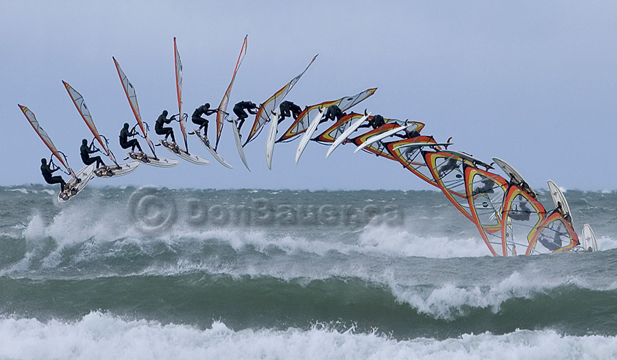 Windsurf front loop