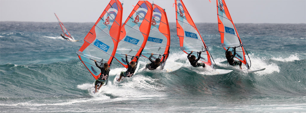 Windsurf waveriding Cut Back2