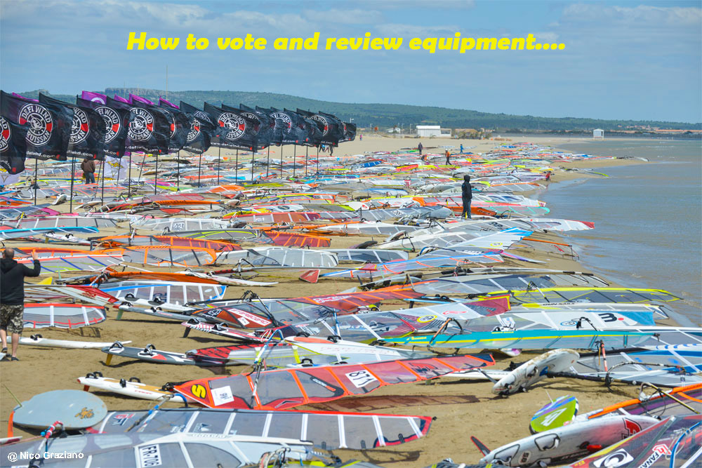 Vote windsurf equipment
