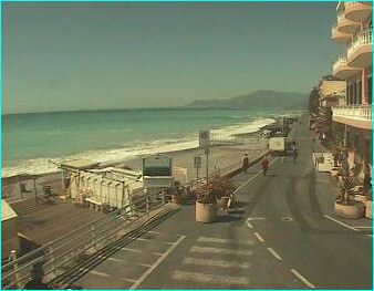 Bordighera webcam
