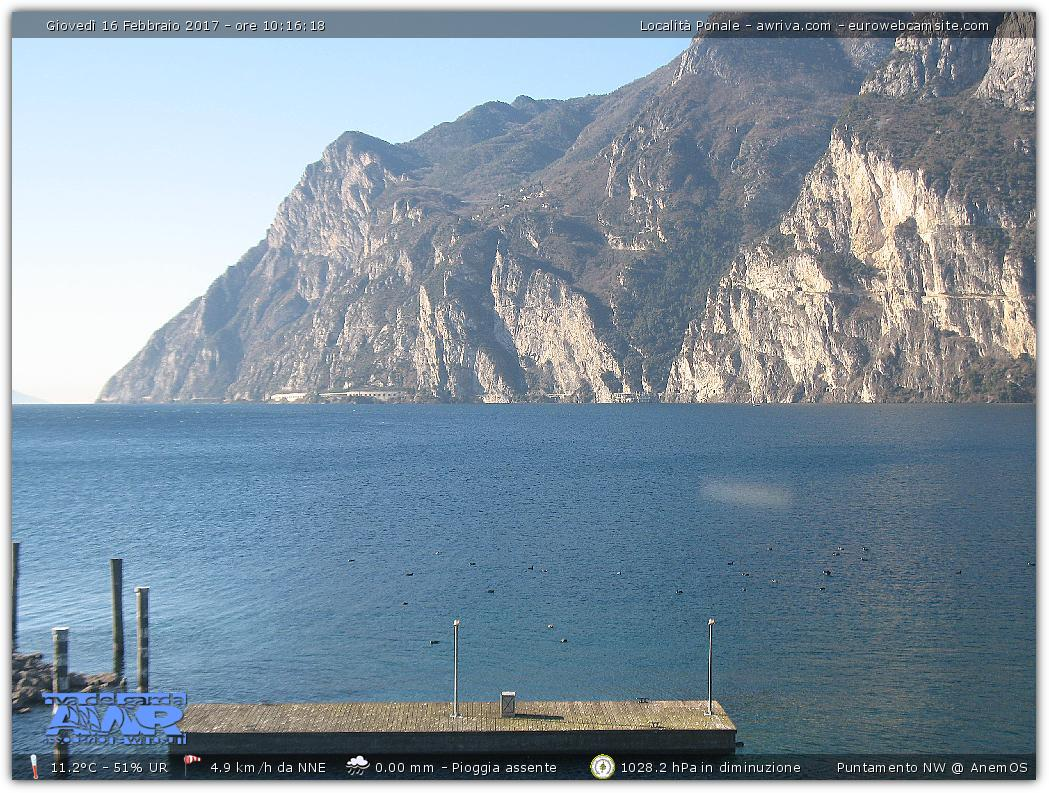 Ponale AWIR webcam